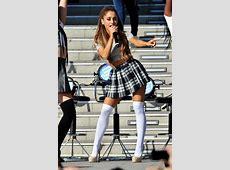 Dress: ariana grande, ariana grande, plaid skirt, skirt