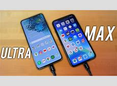 Samsung Galaxy S20 Ultra VS iPhone 11 Pro Max   UNFAIR
