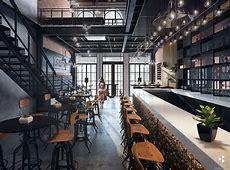 Urban restaurant : Kitchen  bar   Refined bars & restaurants   Urban kitchen, Urban bar, Restaurant