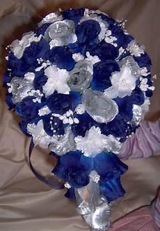 blue silver wedding bouquet dr who wedding blue silver