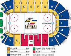 Eagles Stadium Seating Chart Colorado Eagles Seating Chart At The Budweiser Events