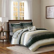beautiful modern chic taupe brown gold bed in bag