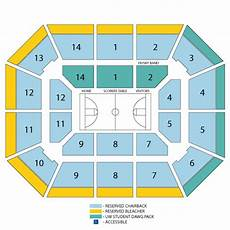 Alaska Airlines Arena Seating Chart Alaska Airlines Arena At Hec Edmundson Pavilion Seattle