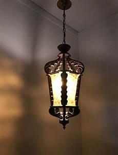 Large Glass Pendant Light Fixtures Large Midcentury Wooden Pendant Light Fixture With Rare