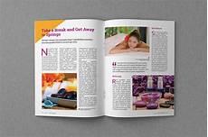 Magazine Template Magazine Template Off 35 Magazine Templates On