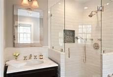glass subway tile bathroom ideas tips on choosing the white subway tile for bathroom