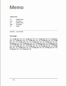 Memo Format For Word Memo Template At Word Documents Com Memo Template Memo