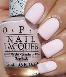 Opi Light Pink Gel Nail Polish Opi Hello Kitty Collection 2016 Let S Be Friends