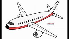 Airplanes Drawings How To Draw An Airplane Step By Step Easy Youtube