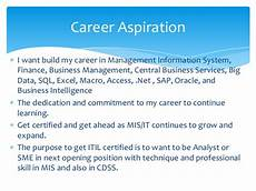 What Is Career Aspiration Personal Development Plan 2015 2016