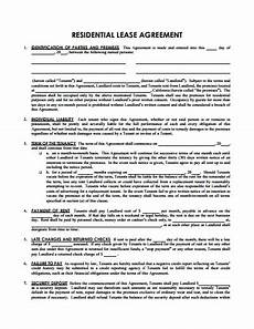 Example Lease Agreement Sample Lease Agreement Template Free Download Create