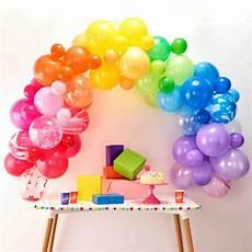 arco de globos arco globos colores decoracion 187 mistermissparty
