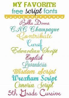 Cursive Free Fonts Free Script Fonts