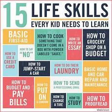 What Skills 15 Life Skills According To Stella
