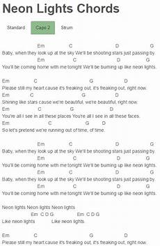 Bright Lights Chords 17 Best Images About Ukulele Notes Demi Lovato Neon And