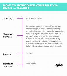 Email Introducing Yourself How To Introduce Yourself In An Email