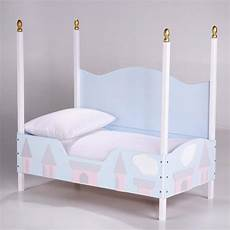 canopy princess toddler bed