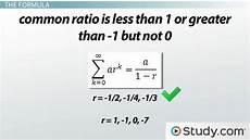 Geometric Formula Understand The Formula For Infinite Geometric Series