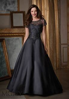 satin evening dress style 71422 morilee