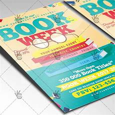 Book Flyers Examples Books Week Premium Flyer Psd Template Psdmarket