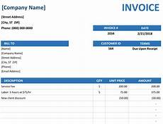 Photo Invoice Simple Invoice Template Excel Format Download Bonsai