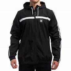 adidas coats for black adidas windbreaker 2 jacket black white