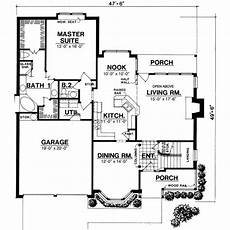 traditional style house plan 3 beds 2 50 baths 2000 sq