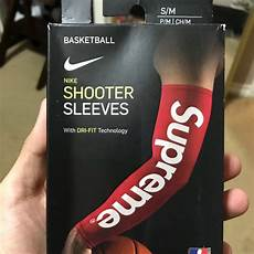 supreme arm sleeve approved supreme accessories nike x shooter sleeve poshmark