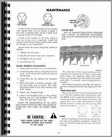 New Holland 479 Haybine Operators Manual
