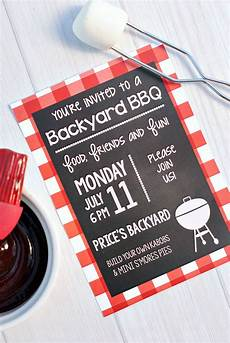 invitation ideas for party summer bbq party invitations amp printables fun squared
