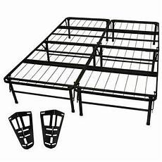 greenhome123 size folding metal platform bed frame