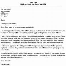 Advisor Cover Letter Financial Advisor Cover Letter Sample Lettercv Com