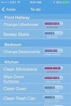 Chore Checklist App Six Helpful Apps For Cleaning Your Disgusting House Macworld