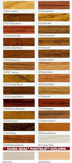 Home Depot Wood Stain Color Chart Wood Stain Color Chart Stains Can Also Be Mixed Into