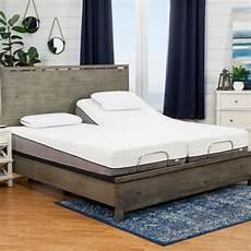 sleep zone huntington 10 inch split king size memory foam