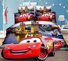 Disney Cars Bedroom Set Disney Mcqueen Cars Bedding Set Duvet Covers Single