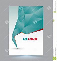 Cover Page Layouts Cover Page Layout Template Stock Vector Illustration Of