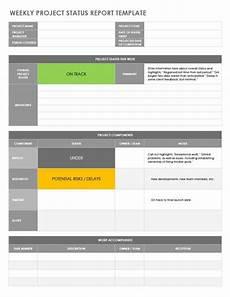 Team Status Report Template 8 Status Report Templates In Word Excel Format