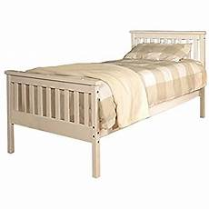 comfy living 3ft single atlantis style wooden pine bed