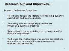 Research Objectives Examples Generic Lecture 2 Research Proposal Student