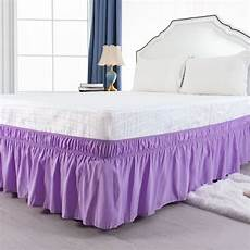 15 inch wrap around bed skirt for size bed light