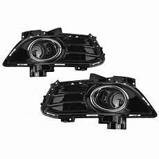 2013 Ford Fusion Fog Lights Pair Car Front Fog Lights Lamp Full Kit W Wiring Switch