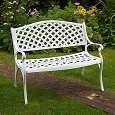 panchina per giardino panche in ferro battuto da giardino homehome