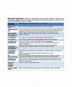 Project Summary Template 11 Project Summary Templates Pdf Doc Free Amp Premium