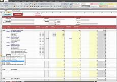 Construction Bid Template Free Excel Free Building Construction Estimate Spreadsheet Excel