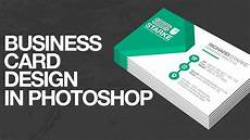 Layout Of A Business How To Design A Business Card In Photoshop Youtube