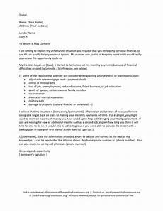 Hardship Letter Loan Modification Sample Letter Loss Of Home Sample Business Letter