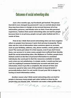 Essay About Social Media Thesis Examples Alisen Berde