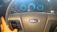 Change Light Ford Fusion Ford Fusion 2012 How To Reset Oil Light Youtube