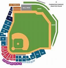 Spectrum Field Seating Chart Spectrum Seating Chart Clearwater Threshers Spectrum Field
